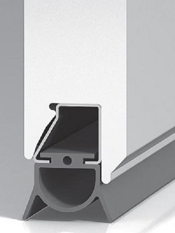 Splitter nya BASIS TREND GARAGEPORT | Aluport Kim W. Sørensen WN-83