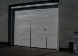 Alutech Komfort med dør  2810 x 2320 mm S-Profil Hvid Ral 9016
